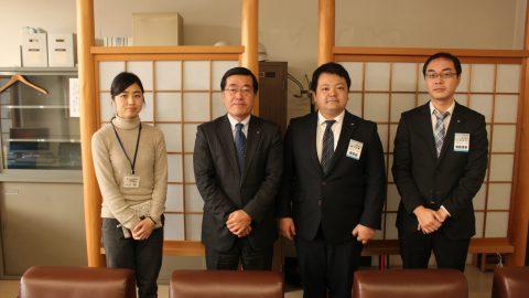 京都府丹後広域振興局へ表敬訪問しました